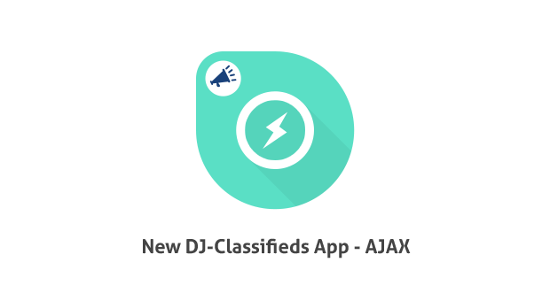 DJ Classifieds Ajax App