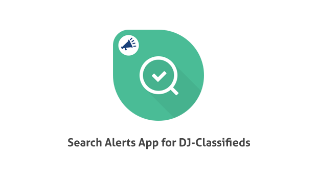 Suchprofile App DJ Classifieds