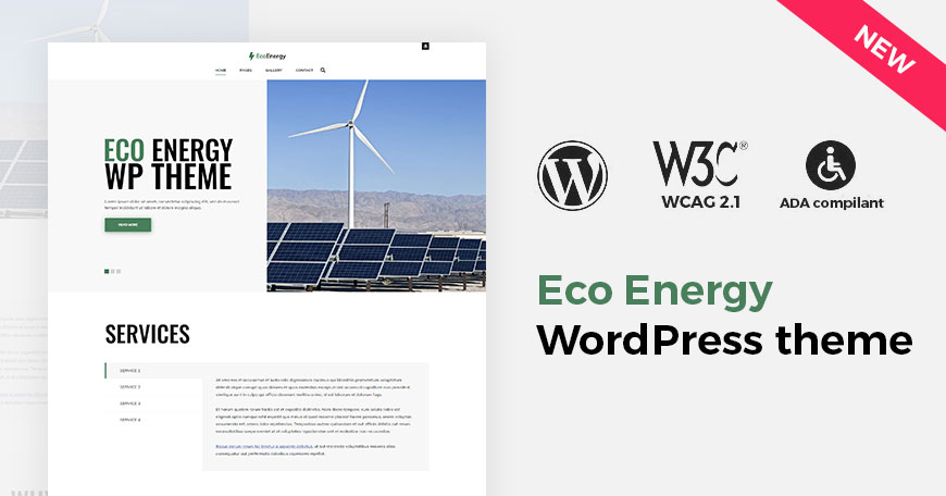 eco energy wp theme intro